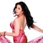 Karishma Manandhar dances in a stage program