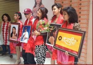singers Astha B, Nirnaya, actress Karishma, models Karina, Shrijana