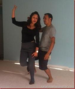 karishma_dance_practice