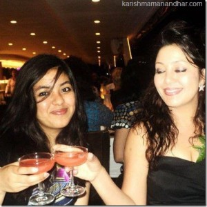 karishma with kabita in the US