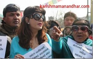 karishma manandhar andolan ktm (1)