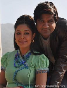 karishma mananhdar with director ukesh dahal