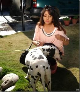 Karishma Manandhar shooting TVC - IGT Gas  (3)