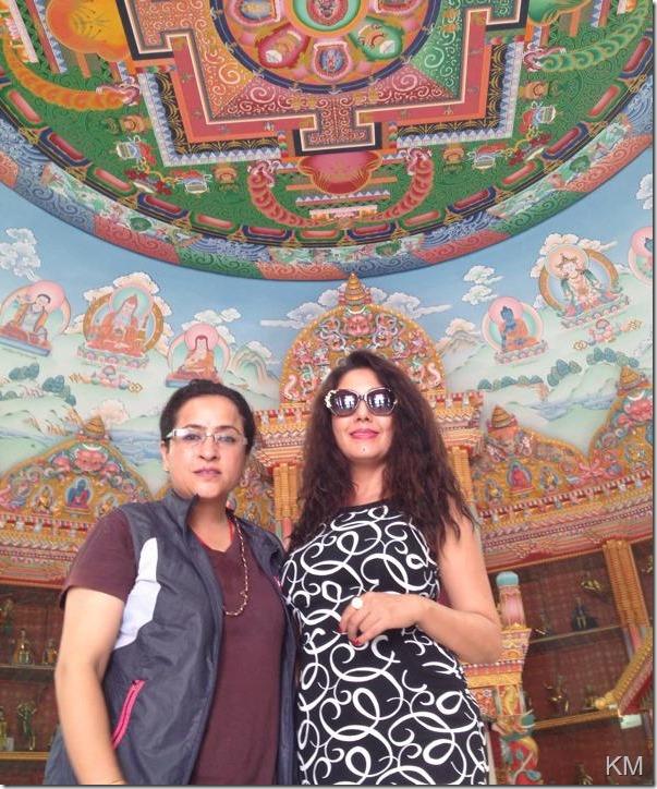karishma manandhar lumbini tour (1)