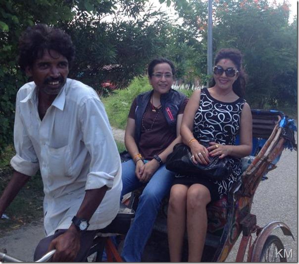karishma manandhar lumbini tour (2)