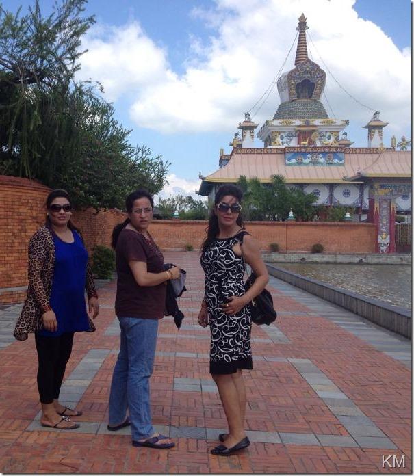 karishma manandhar lumbini tour (3)