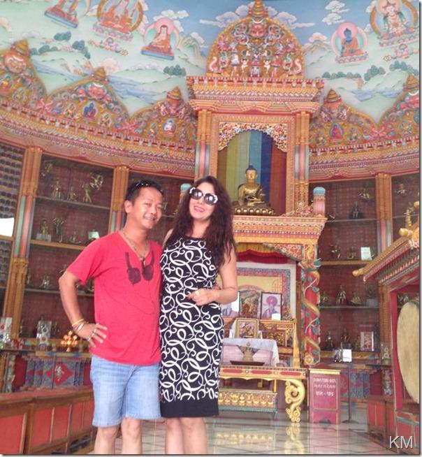 karishma manandhar lumbini tour (4)