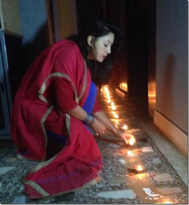 karishma manandhar deepawali 2014 (1)